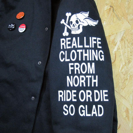 So Glad SKULL Deck Jacket Navy