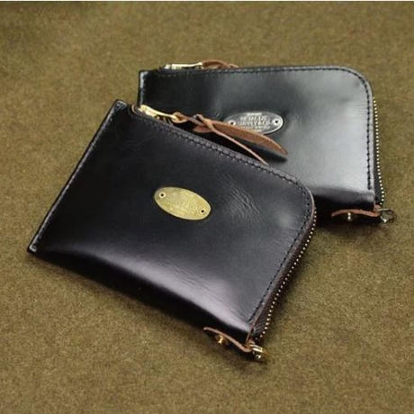 CLASSIC TEA CORE LEATHER CARD & COIN HOLDER WALLET