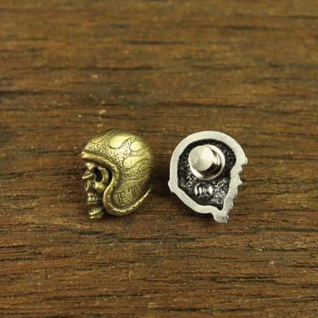 F.T.W Helmet Skull Pin