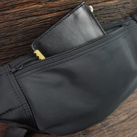 """Simple Day"" Nylon Waist Bag"