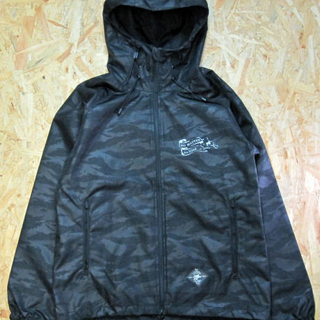 No Matter Shell Parka Tiger Black
