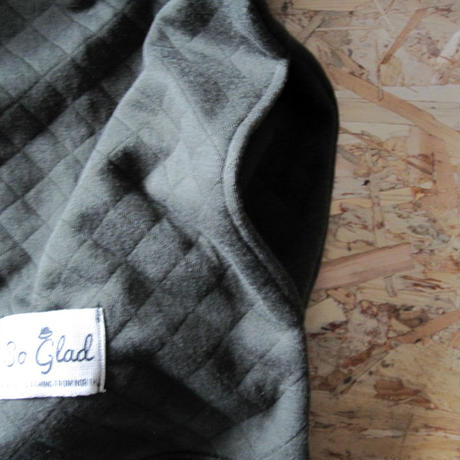 So Glad Knit Quilt Sweat Kahki