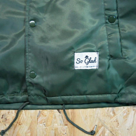 So Glad Coach Jacket Kahki