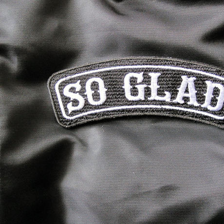 So Glad MA-1 Jacket Black