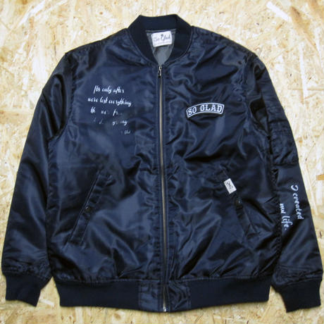 So Glad MA-1 Jacket Navy