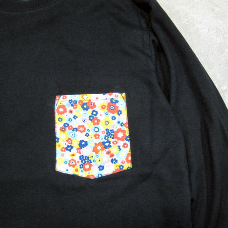 Flower Pocket L/S TEE