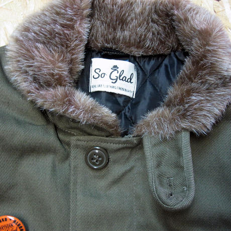 So Glad N-1 Jacket Kahki