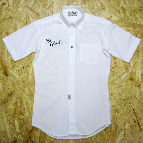 So Glad Dry BD S/S Shirt White