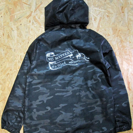 No Matter Shell Parka Woodland Black