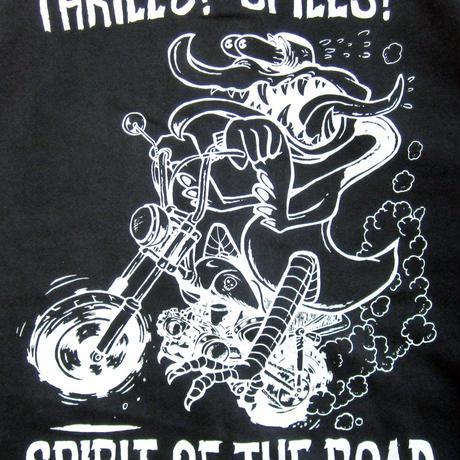 Thrills! Spills! P/O Parka Black