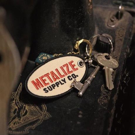 Retro strap keychain (Oval)