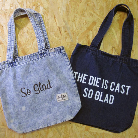 So Glad Denim Tote Bag