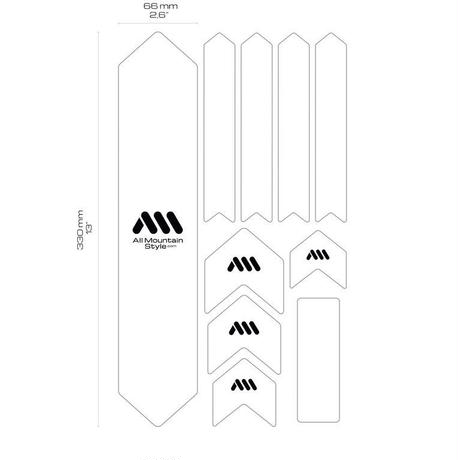 "AMS Honeycomb Frame Guard XL  ""MAZE"""
