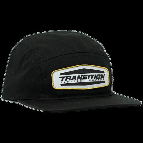 Black Patch 5 Panel Hat