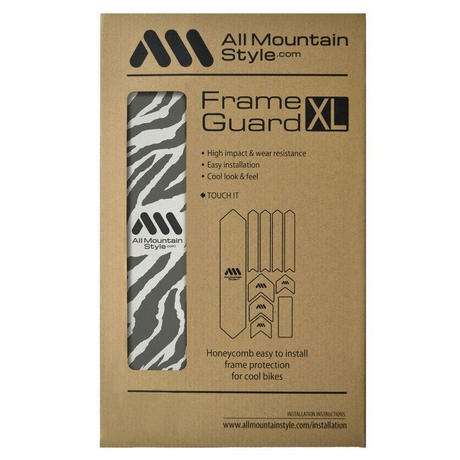 AMS Honeycomb Frame Guard XL. ZEBRA