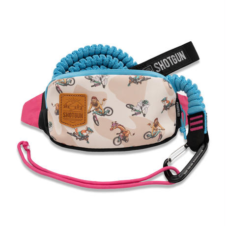 MTB Tow Rope + Kids Hip Pack Combo
