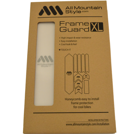 AMS Honeycomb Frame Guard XL. CLEAR