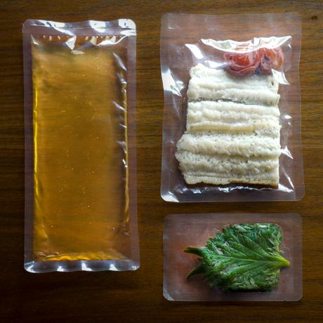 【季節の一汁一菜】鱧と梅の炊き込みご飯 2人前