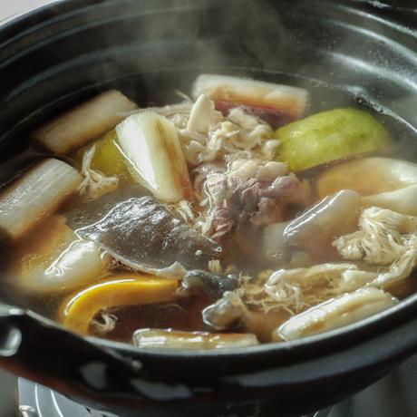 【季節の鍋】すっぽん鍋 2人前