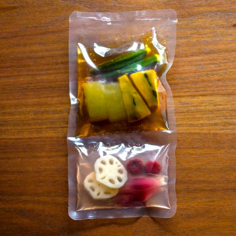 【季節の一汁一菜】夏野菜煮こごり 2人前