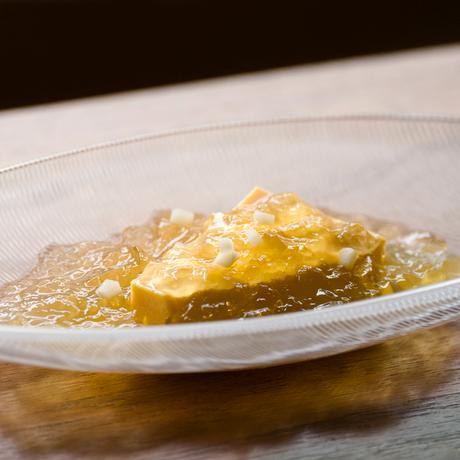 【季節の一汁一菜】すっぽんの煮こごり 卵豆腐 2人前