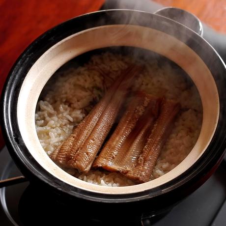 【季節のくちなし】穴子と山椒の炊き込みご飯 2人前
