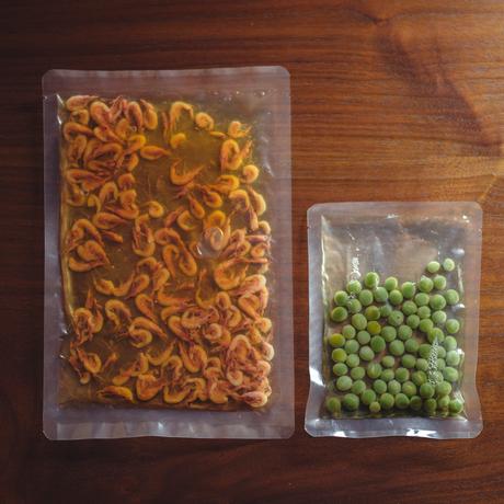 【季節の一汁一菜】桜えびとうすい豆の炊き込みご飯 2人前