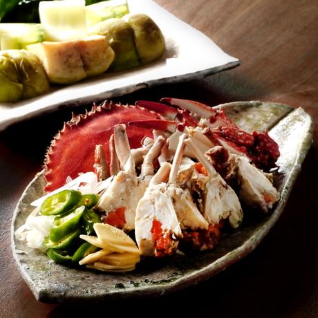 【季節の一汁一菜】わたり蟹土鍋煮込み 2人前