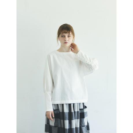 オールドコットン・プルオーバー/オフホワイト