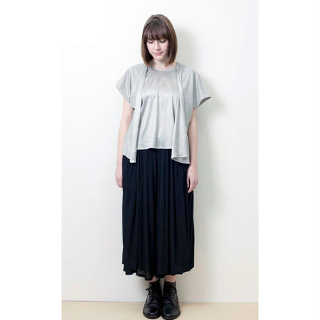 WEARABLE STOLE T-SHIRT(ウェアラブル・ストールTシャツ)/YELLOW(イエロー)