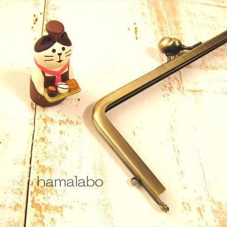8月26日販売開始!【HA-1892】18cm/角型口金/(アメ玉×アンティークゴールド)