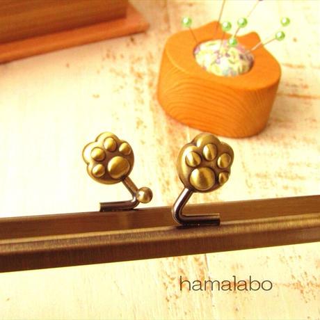 12月21日販売開始!【HA-1750】18cm/角型(肉球×アンティークゴールド)