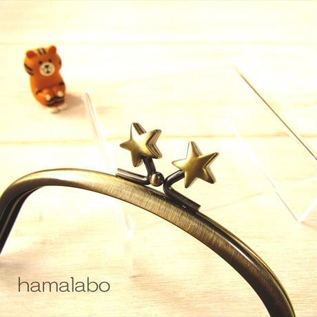 7月19日販売開始!【HA-1876】12.5cmくし型(足長)/(メタルスター×アンティークゴールド)