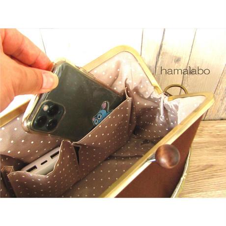 4月18日販売開始!【KT-2078】がま口ポケットショルダーバッグの型紙&レシピ【24cm/角型用】
