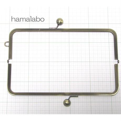 【HA-369】27cm大玉口金/角型アンティーク/+(プラス)