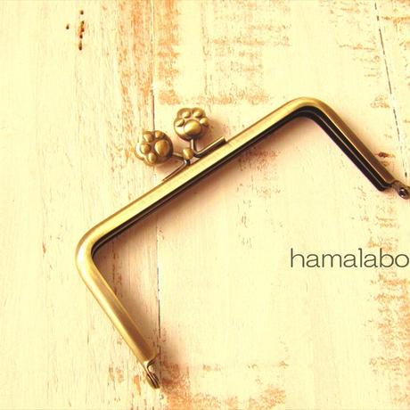 2月1日販売開始!【HA-1765】12cm/角型(肉球×アンティークゴールド)