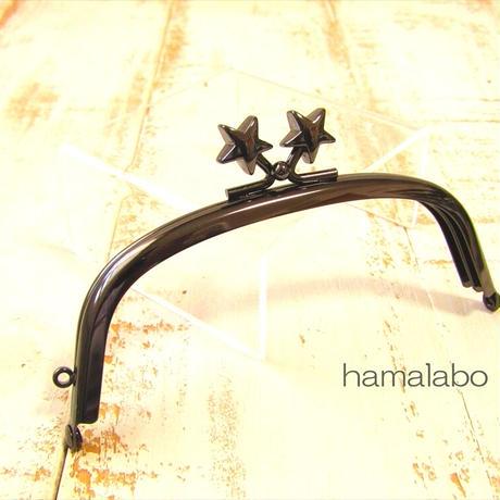 10月10日販売開始!【HA-1970】12.5cm/くし型(メタルスター×ブラック)