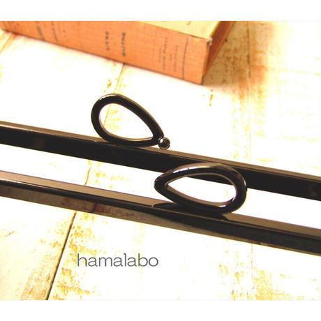 2月28日販売開始!【HA-1792】24cm角型口金(新リボン×ブラック)+(プラス)