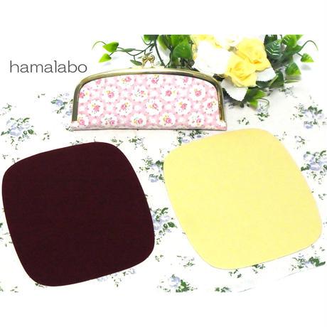 【HA-580】<メガネ&ペンケース用>芯地&内布シールセット