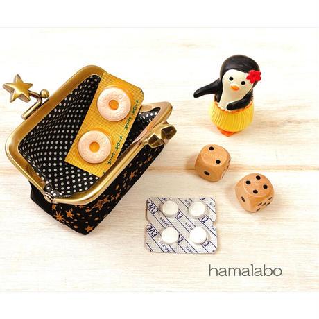 9月1日販売開始!【HA-1903】7.5cm/角型口金(リボン×アンティークゴールド)