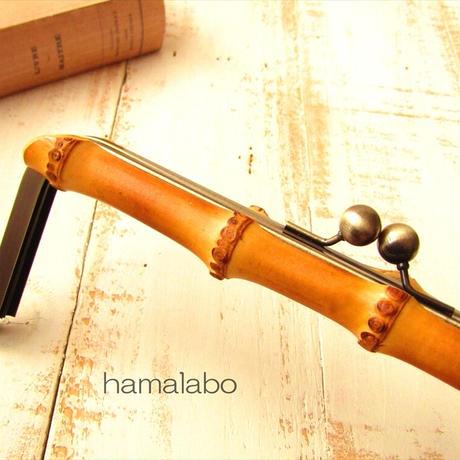 5月1日販売開始!【HA-1837】竹の口金24cm(アンティークゴールド)-薄焼き-
