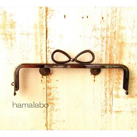 4月7日販売開始!初回限定特価!【HA-1803】16.5cm口金/(新リボン×ブラック)