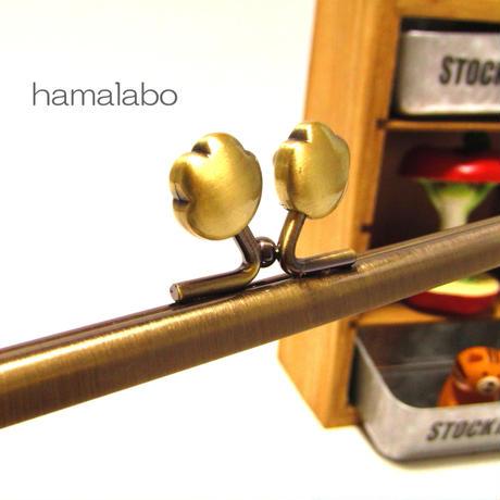 【HA-1113】17.7cm/角型(肉球×アンティークゴールド)
