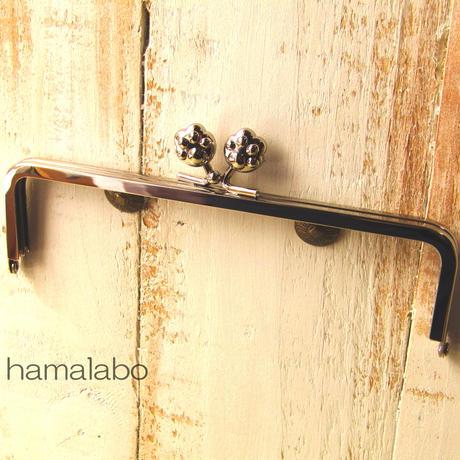 【HA-105】16.5cm/角型(肉球)・シルバー