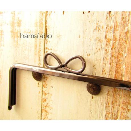 5月1日販売開始!【HA-1801】18cm/角型口金/(新リボン×ブラック)