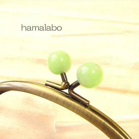 10月9日販売開始!【HA-2017】12.5cmくし型(足長)/(オーロラグリーン×アンティークゴールド)