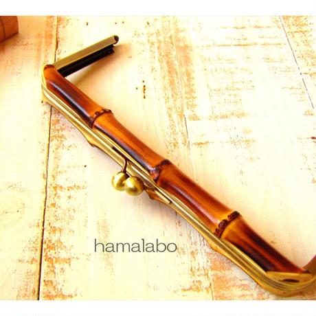 5月1日販売開始!【HA-1776】竹の口金24cm(アンティークゴールド)