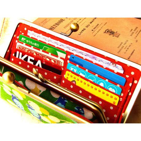 【KT-2024】親子がま口の長財布の型紙&レシピ【22cm用】