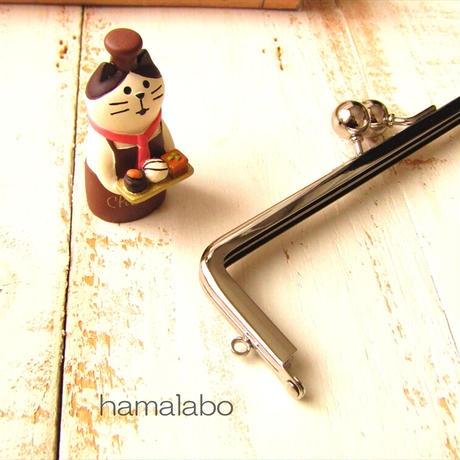 6月1日販売開始!【HA-1845】16.5cm口金/(アメ玉×シルバー)