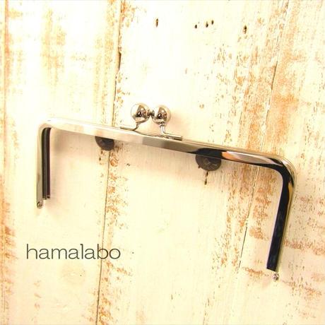 8月26日販売開始!【HA-1891】18cm/角型口金/(アメ玉×シルバー)